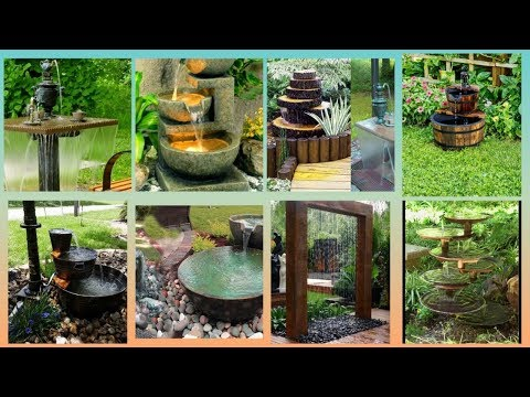 Creative water fountain ideas | Amazing Water fountain ideas for indoor and home |