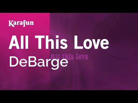 Karaoke All This Love - DeBarge *
