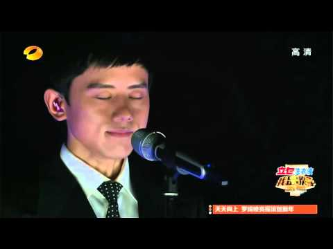 """Black or white""Zhang Jie(Jason Zhang)a chinese singer"