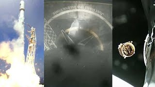 SpaceX FORMOSAT-5 mission: Falcon 9 launch & landing, satellite deployment