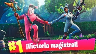 EPIC VICTORY WITH THE NEW SKIN OF PASCUAS IN FORTNITE: Battle Royale!! - Agustin51