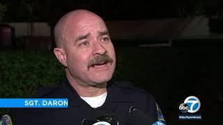 Arson suspect stopped by good Samaritans in Anaheim Hills | ABC7