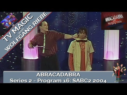 Abracadabra TV Magic Show #16 with Wolfgang Riebe