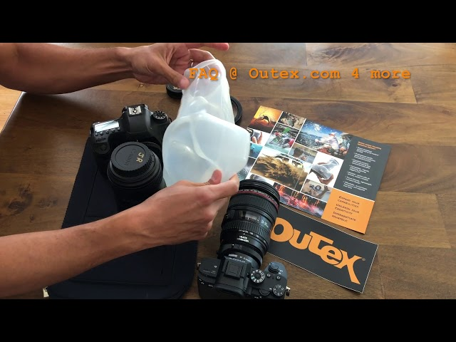 Outex underwater housing Entry Kit Cover 100X Installation Video
