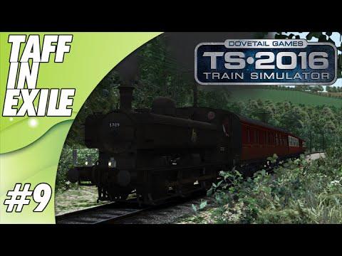 Train Simulator 2016 - E9 - GWR Pannier 57xx -  Steaming Over the Hill