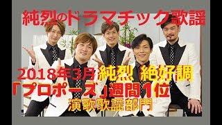 純烈のドラマチック歌謡2018年3月『カラオケを語る!』コラボルーム登場...