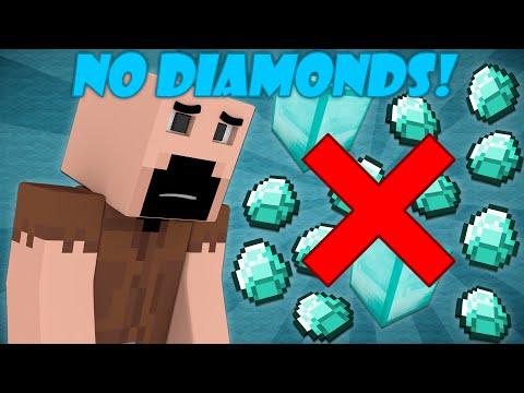 If Diamonds Were Never Added - Minecraft