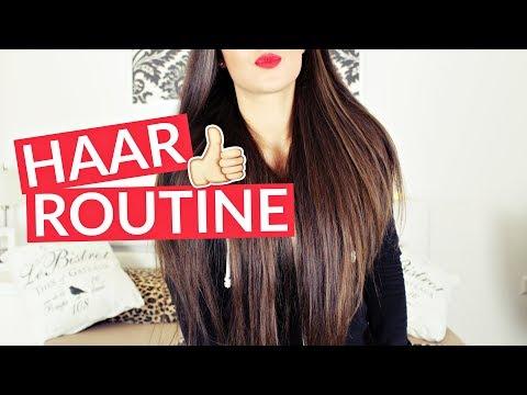 AKTUELLE Haarpflegeroutine 😘 - für lange und gesunde Haare 😍 | Diie Jule