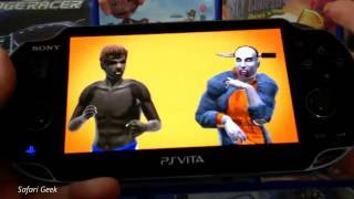 PS Vita - Reality Fighters Gameplay