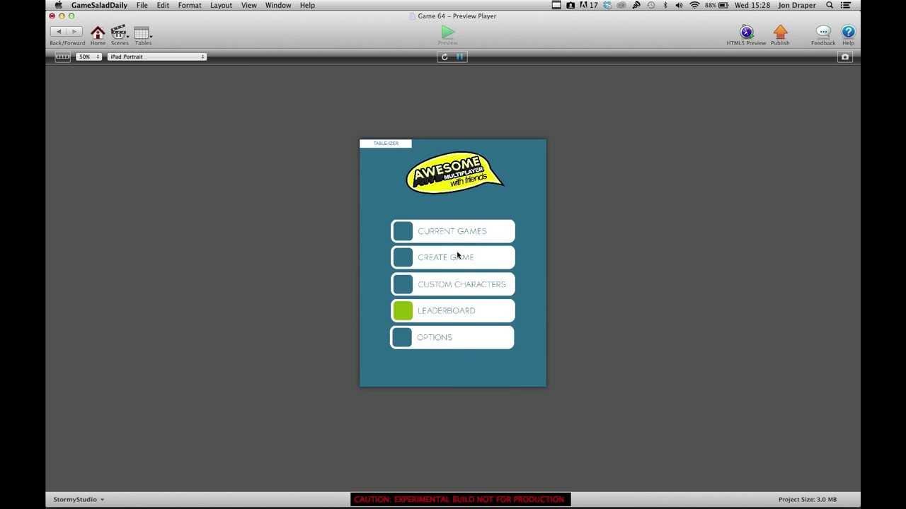 Gamesalad custom fonts - Developing Gamesalad Game Server Video 2