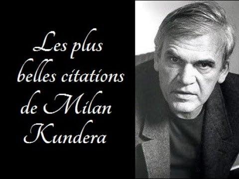 Les plus belles citations de Milan Kundera