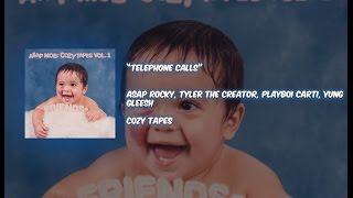 A$AP Rocky- Telephone Calls (lyrics) ft. Tyler The Creator, Playboi Carti & Yung Gleesh