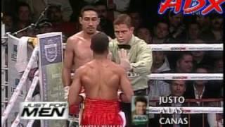 "Humberto ""Zorrita"" Soto vs Antonio ""T-Rex"" Davis Boxeo ADX"