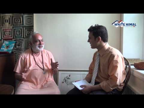 Swami Arun on WhiteHimal TV talk show