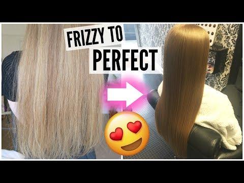 GOT MY DREAM HAIR! Brazilian Keratin Treatment Vlog