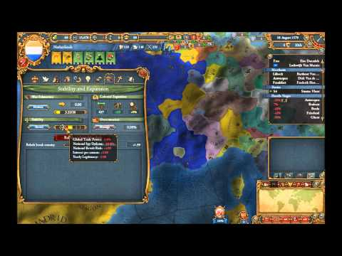 The King Rules: Europa Universalis 4 Netherlands Part 1 Eighty Years' War