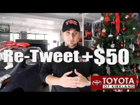 Toyotathon Shareathon with Roger Carr at Toyota and Scion of Kirkland