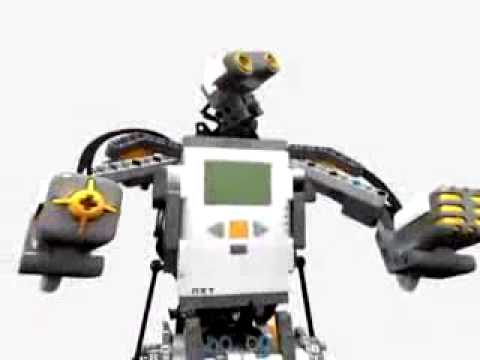 LEGO MINDSTORMS NXT Robot - YouTube