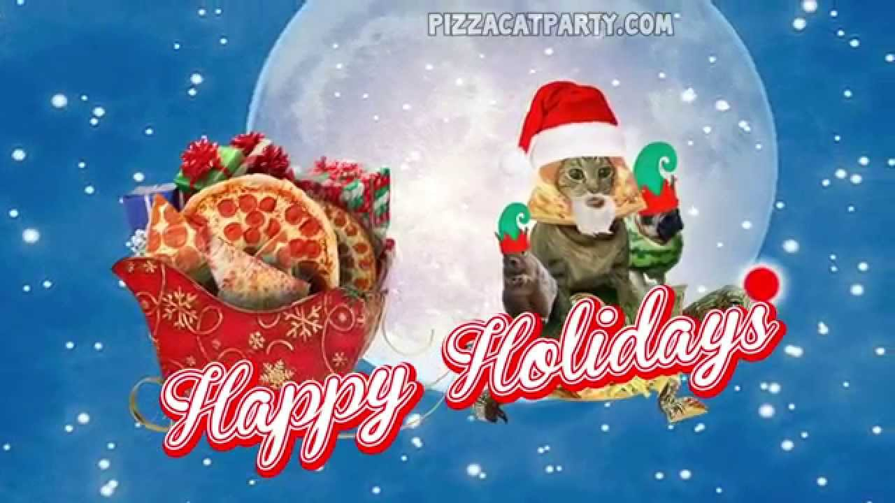 RUN DMC CHRISTMAS SONG (PARODY) PIZZACAT - PIZZA XMAS - YouTube