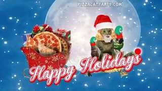 RUN DMC CHRISTMAS SONG (PARODY) PIZZACAT - PIZZA XMAS