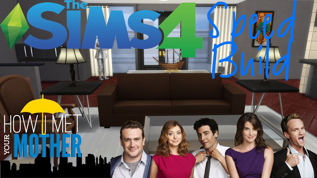 Barney Stinson S Apartment How I Met Your Mother Tv Set Recreation The Sims 4 Sd Build