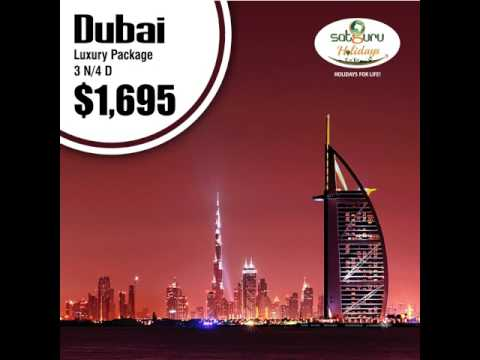 Luxury Holiday Packages | Dubai | Mauritius | Maldives | Johannesburg | Switzerland | Satguru Travel