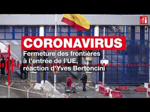 Coronavirus: la fermeture des frontières de l'U.E