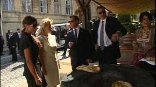 İlham Əliyev və Dmitri Medvedevin Bakıda birgə gəzintisi. 03.09.2010