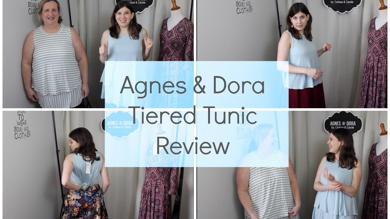 Agnes Dora Tiered Tunic Review Youtube
