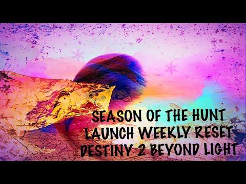 SEASON OF THE HUNT CONTENT LAUNCH!! | Destiny 2 Beyond Light |