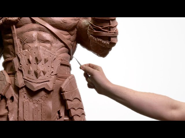 GIANT Monster Clay Sculpture!! *EPIC*