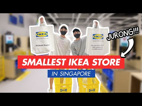 VISITING THE SMALLEST IKEA STORE IN SINGAPORE!!! (AND SOUTHEAST ASIA)