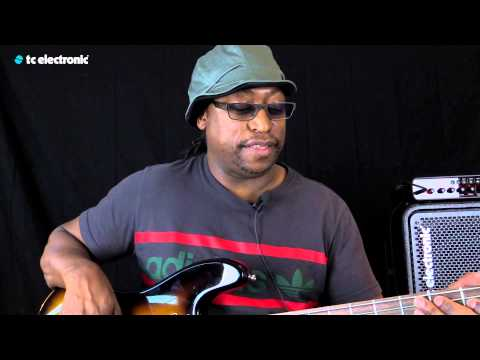 "Darryl Jones uses his ""Solo Vibe"" TonePrint for the Shaker Vibrato"