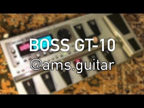 Boss GT-10 GT10 Guitar Multiple Effects Processor  | @ams.guitar