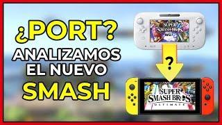 ¿SMASH BROS ULTIMATE ES UN PORT DE WII U? | Super Smash Bros Ultimate para Nintendo Switch