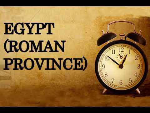 Egypt Roman province