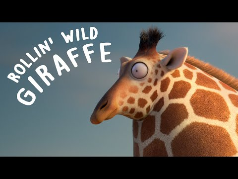 Thumbnail: ROLLIN' WILD - 'Giraffe ' - what if animals were round?