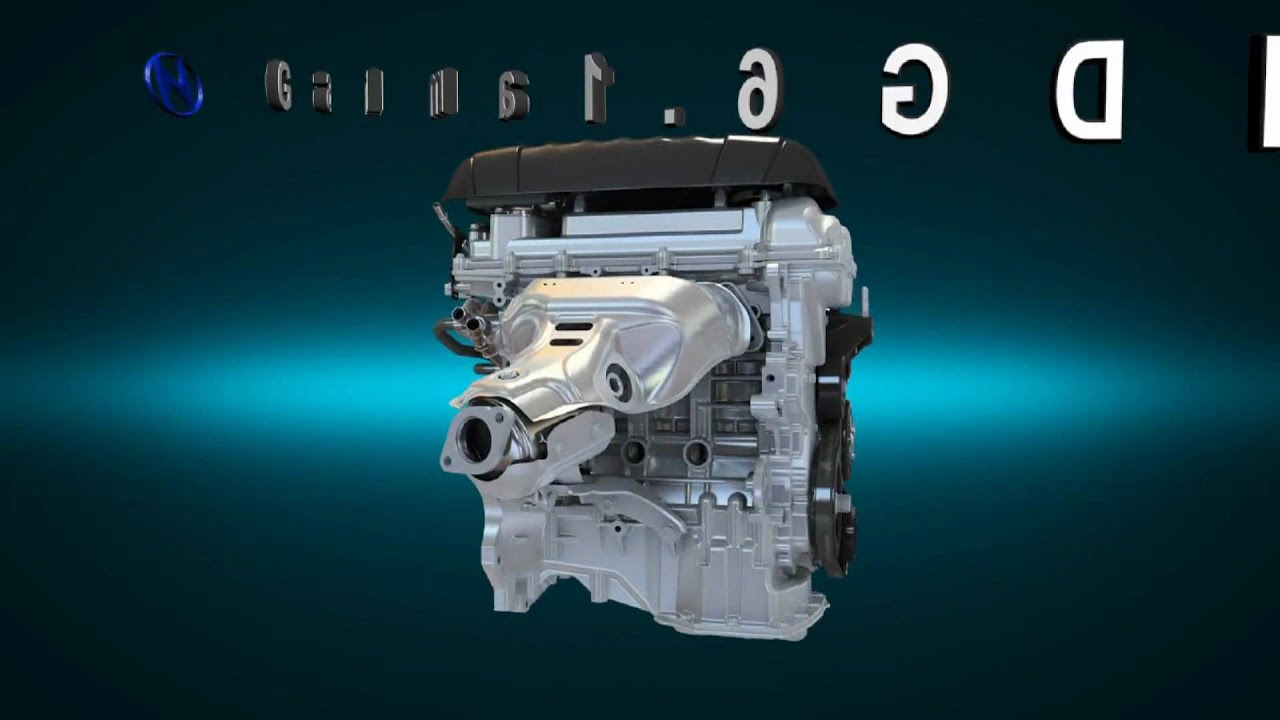 hyundai unveils new gamma 1 6l gdi engine