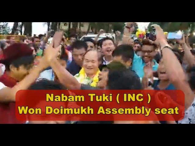Arunachal Pradesh- Nabam Tuki wins Sagalee Assembly Constituency