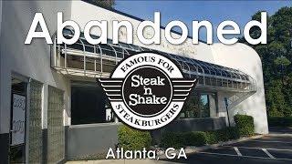 Abandoned Steak 'n Shake - Atlanta, GA