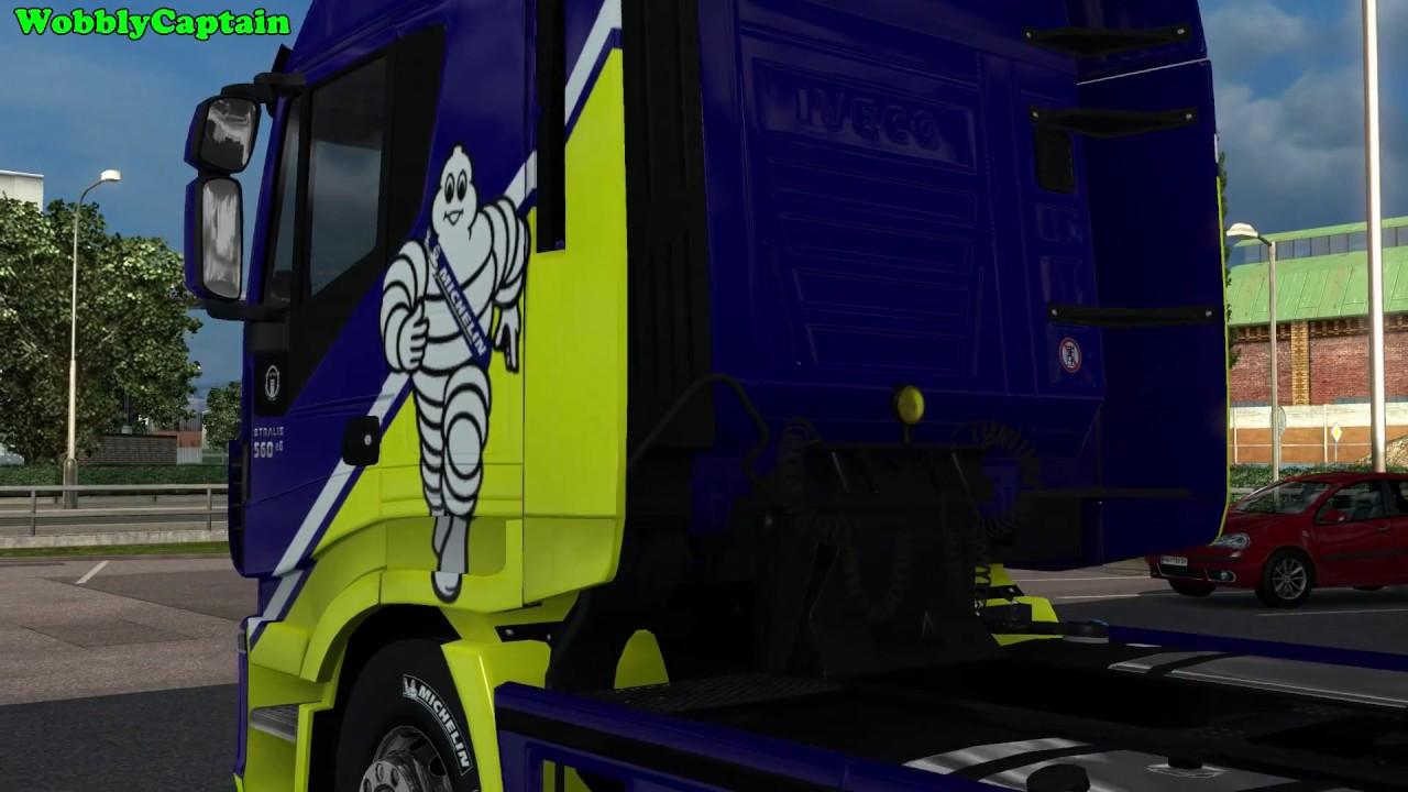 Euro Truck Simulator 2 Michelin Fan Pack DLC My First Look