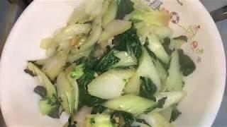 蒜蓉炒大白菜 家常菜