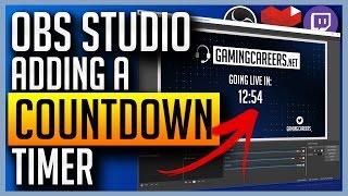 OBS Studio - Hinzufügen Countdown-Timer für Twitch oder YouTube Gaming