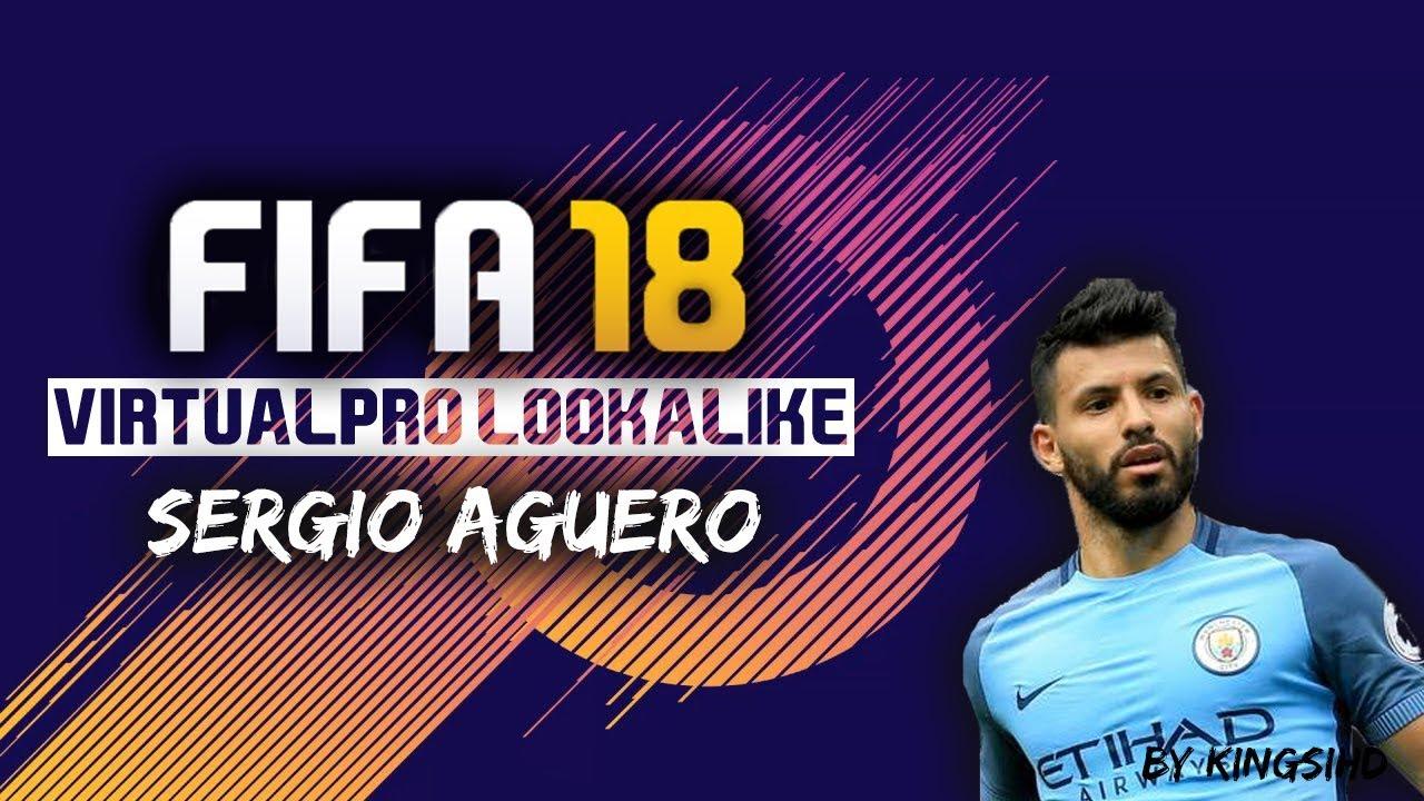 FIFA Sergio Aguero Virtual Pro Look Alike Tutorial YouTube - Sergio aguero hairstyle tutorial