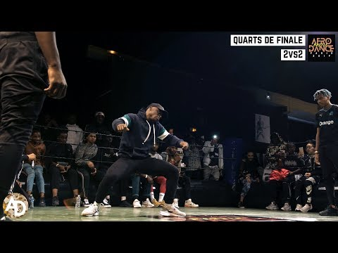 Wizlex & Nesh vs Sipola & Kew - Quarts de Finale 2vs2  Afro Dance Battle Paris 2019