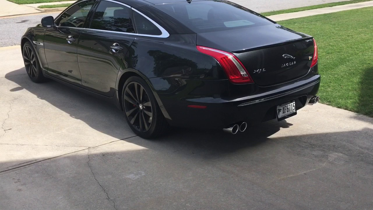 2013 Jaguar Xj L Awesome Exhaust Install And Sound Youtube