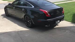 2013 Jaguar XJ L Awesome Exhaust install and sound!!!