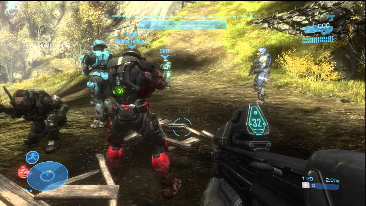 Halo: Reach Four Player Campaign Online Co-Op HD Gameplay Xbox Live Xbox 360 - YouTube