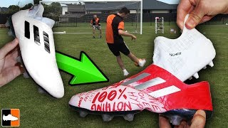 World's Craziest Boots! 🌞⚽🔥 How Do They Work..?!