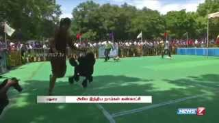 Different Breeds Of Dog In Show At Madurai | Tamil Nadu | News7 Tamil